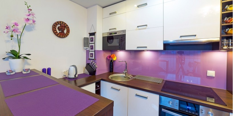 Coloured Splashbacks